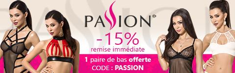 -15% sur la ligerie Passion